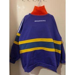 Purple oversized jumper